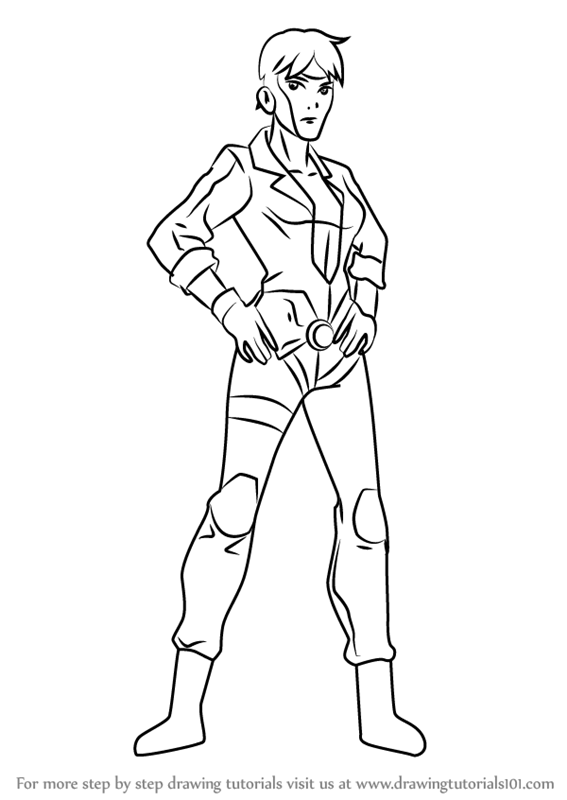 Learn How To Draw Rocket From Young Justice Young Justice