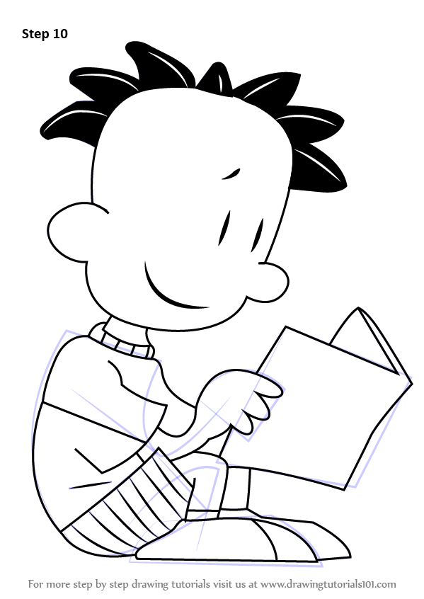 Learn How to Draw Nate Wright from Big Nate (Big Nate