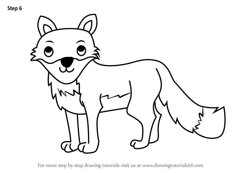 The Best and Most Comprehensive How To Draw A Cute Fox
