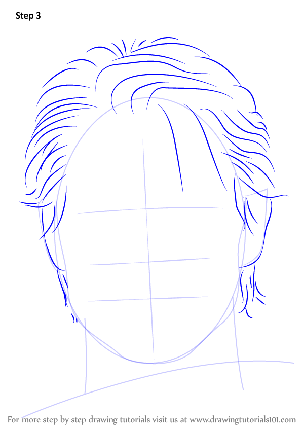 Learn How To Draw Tom Cruise Celebrities Step By Step