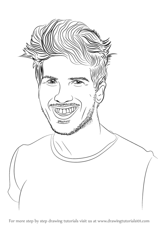 Joey Graceffa Coloring Pages Coloring Pages