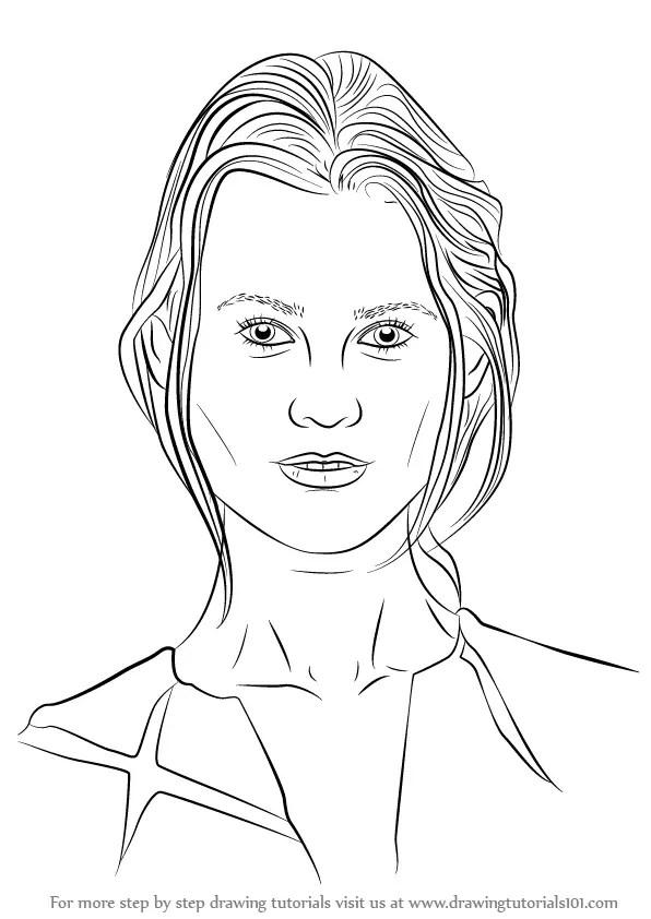 Learn How to Draw Behati Prinsloo (Female Models) Step by