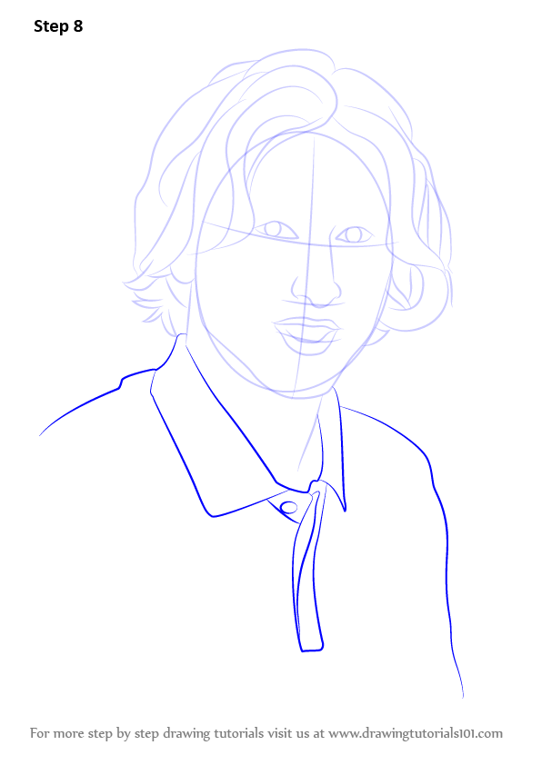 Learn How To Draw Luka Modric Footballers Step By Step