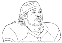 Odell Beckham Jr Black And White Coloring Coloring Pages