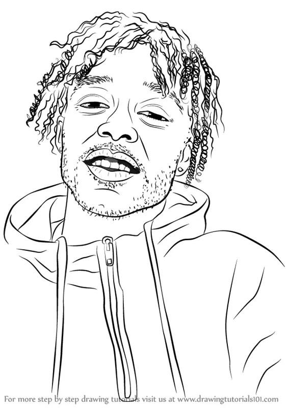 Step by Step How to Draw Lil Uzi Vert