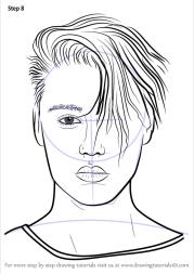 learn draw justin bieber