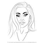 Learn How to Draw Melanie Martinez (Singers) Step by Step