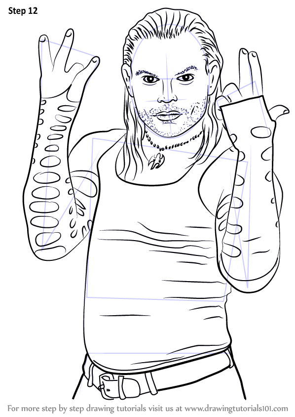 Wwe Dean Ambrose Coloring Pages