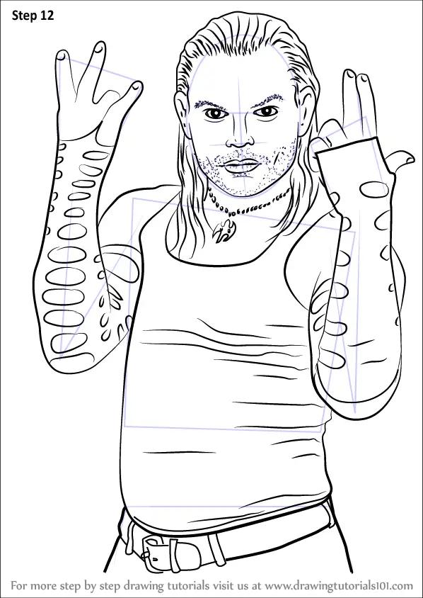 Finn Balor Demon Wwe Drawing