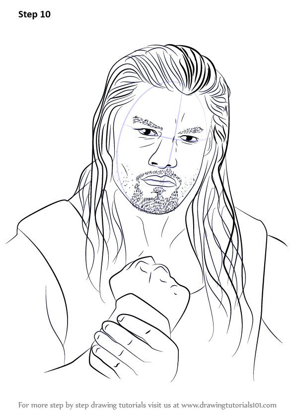 Wwe The Shield Coloring Pages