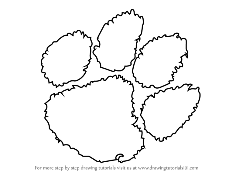 Printable Coloring Pages Of The Clemson Tigers Football