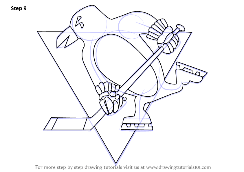 Of Pittsburgh Penguins Hockey Players Free Coloring Pages
