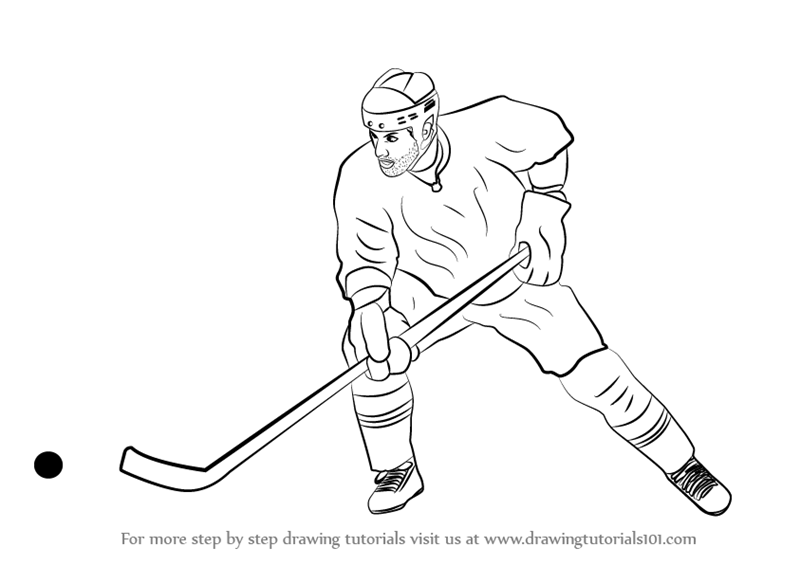 Related Keywords & Suggestions for ice hockey drawings