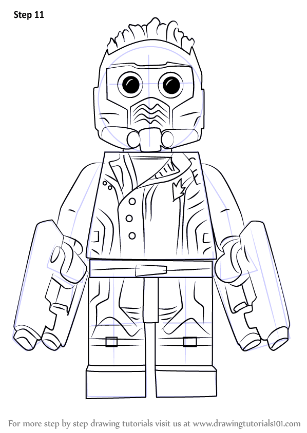 Learn How To Draw Lego A