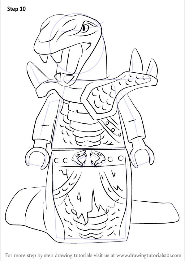 Learn How to Draw Arcturus from Ninjago (Ninjago) Step by
