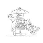 Learn How to Draw Green Ninja from Ninjago (Ninjago) Step