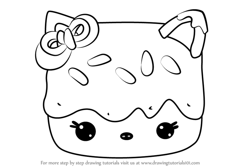 Learn How to Draw Cocoa Mallow from Num Noms (Num Noms