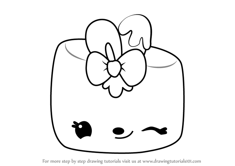 Learn How to Draw Maya Mallow from Num Noms (Num Noms