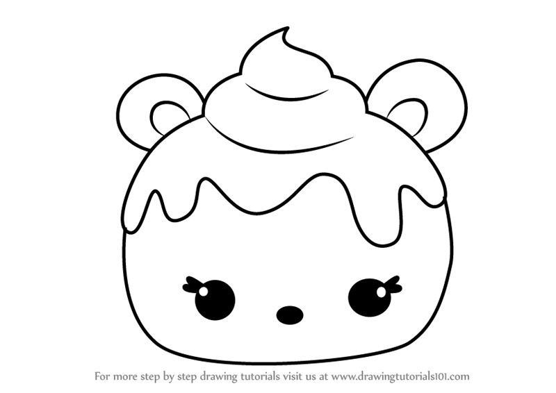 Learn How to Draw Mint Berry from Num Noms (Num Noms) Step