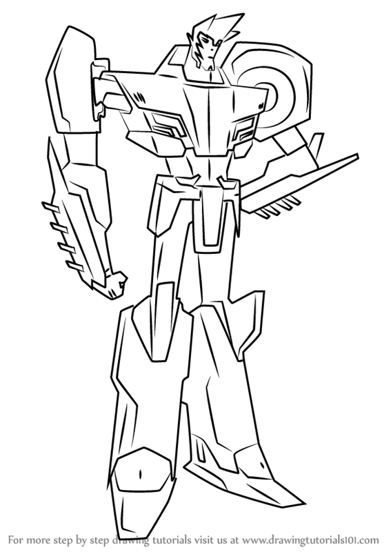 Coloring Pages Sideswipe Coloring Pages