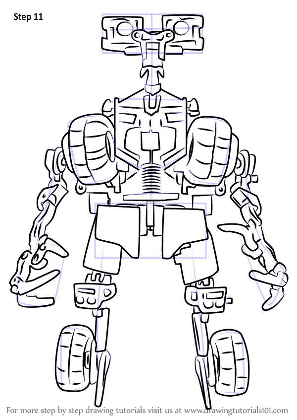Learn How To Draw Fixit From Transformers Transformers Step By Step