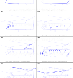 step by step drawing tutorial on how to draw a boeing ch 47 chinook helicopter [ 751 x 1641 Pixel ]