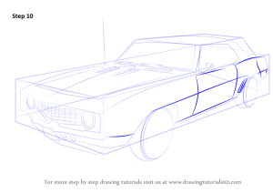 Learn How to Draw a 1969 Camaro (Sports Cars) Step by Step