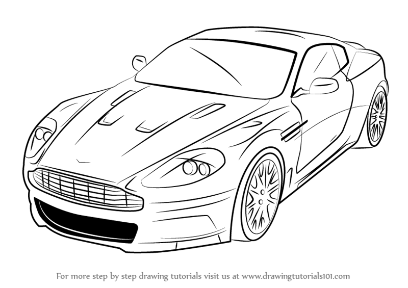 Koenigsegg Drawing Coloring Pages