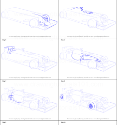 step by step drawing tutorial on how to draw f1 car [ 751 x 1371 Pixel ]