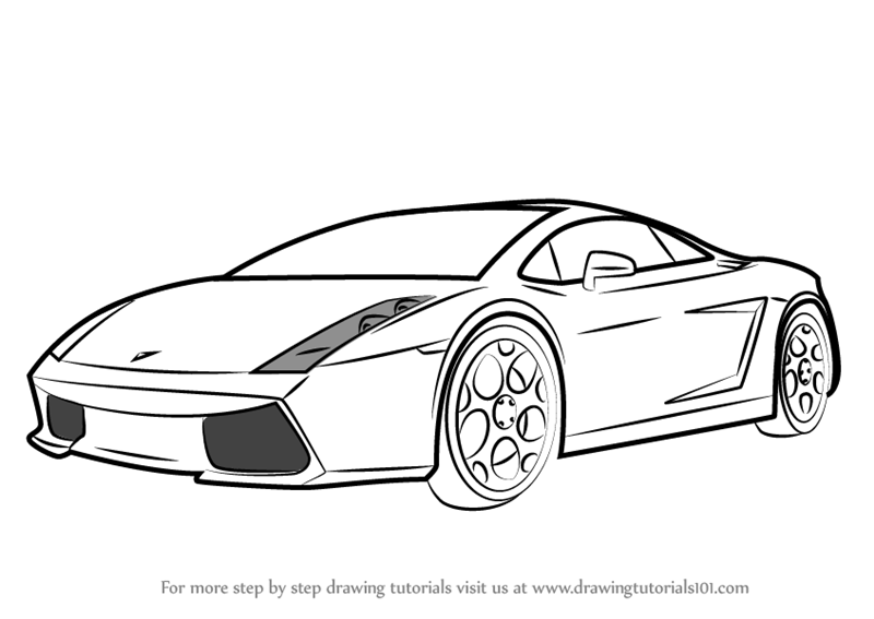 Easy Car Coloring Pages. Diagrams. Wiring Diagram Images