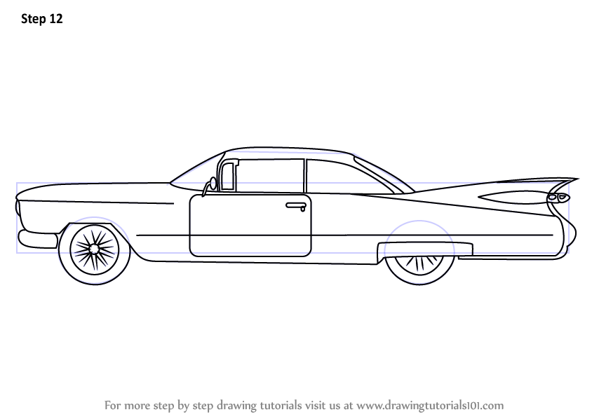 List of Synonyms and Antonyms of the Word: Cadillac Drawings