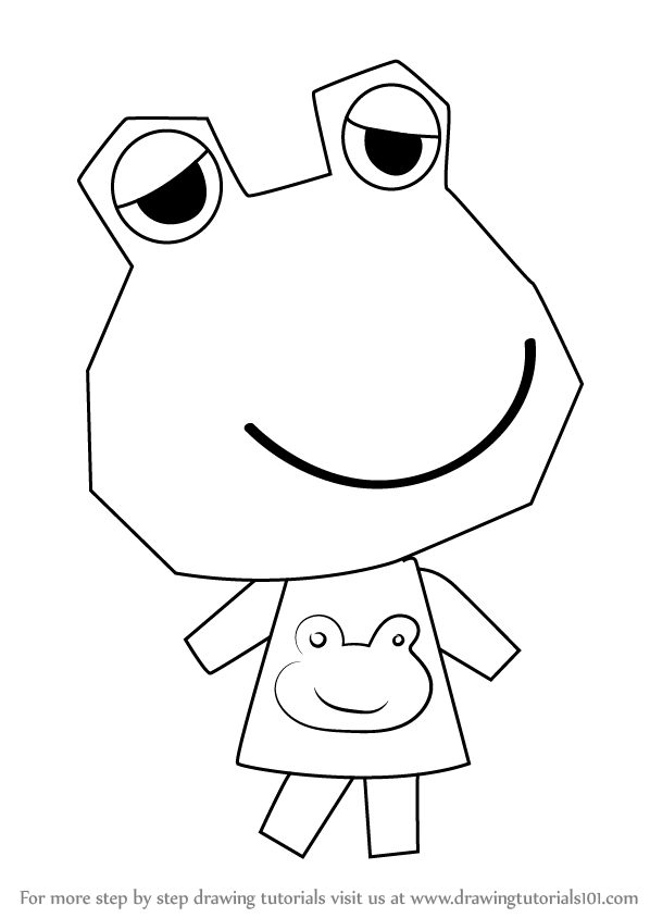 Learn How to Draw Emerald from Animal Crossing (Animal