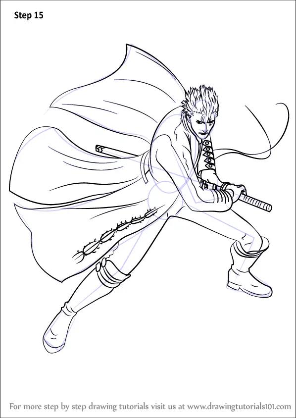 Pencil Drawings Face Devil
