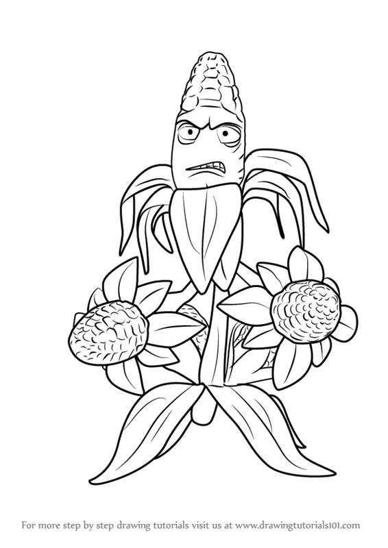 pvz garden warfare cactus coloring pages | Best Quotje Pars A La Rescousse Hein Ta Ta Yau Yau ...
