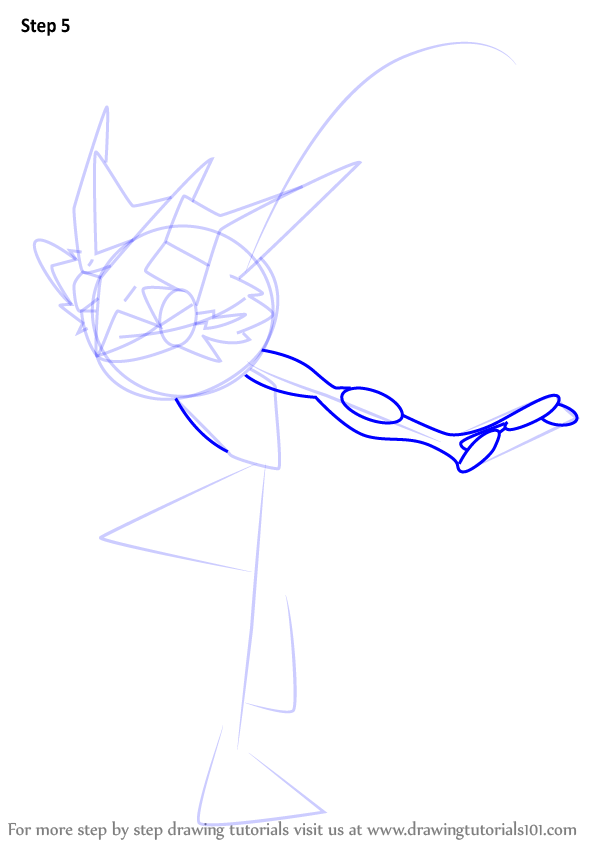 Learn How To Draw Ash Greninja From Pokemon Sun And Moon