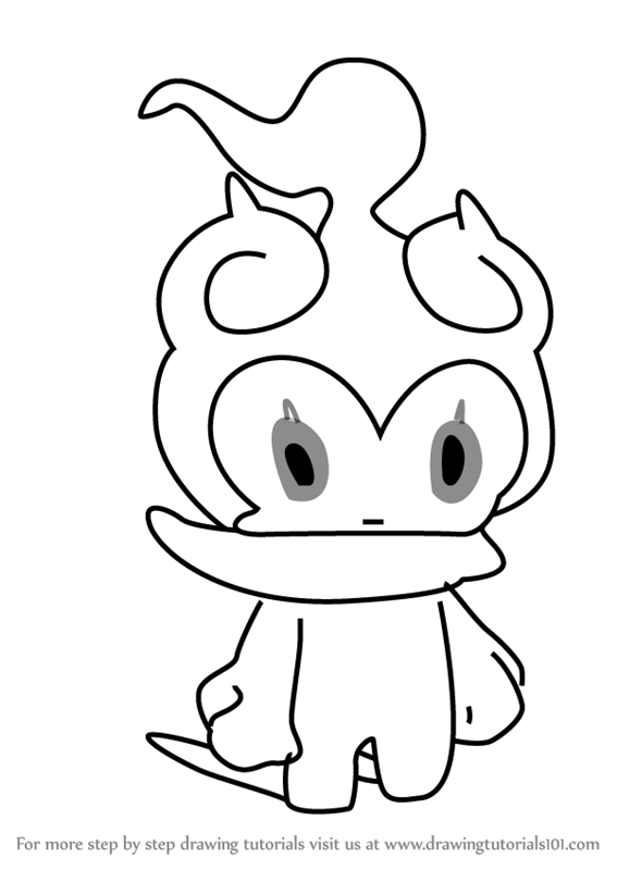 Learn How To Draw Mallow From Pokemon Sun And Moon