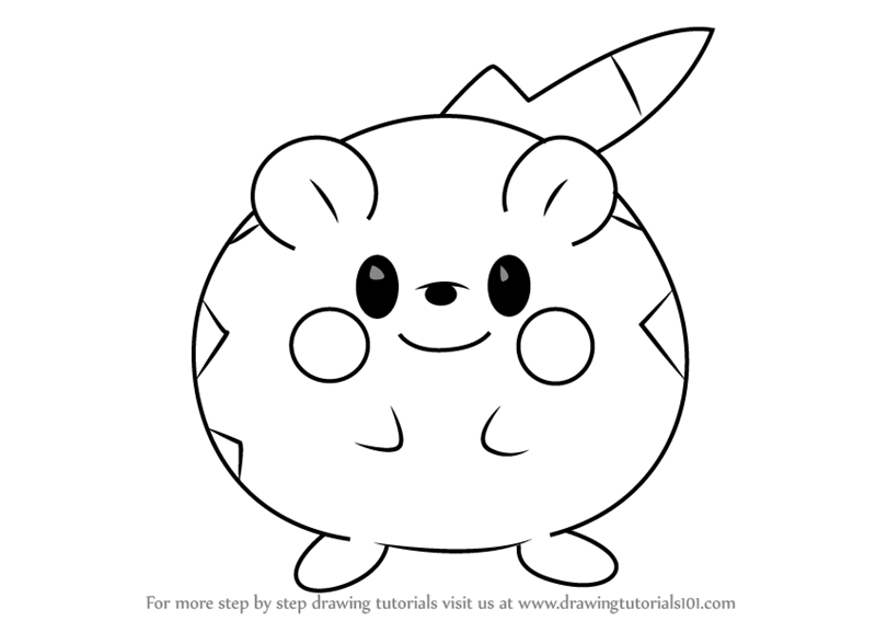 Learn How to Draw Togedemaru from Pokemon Sun and Moon