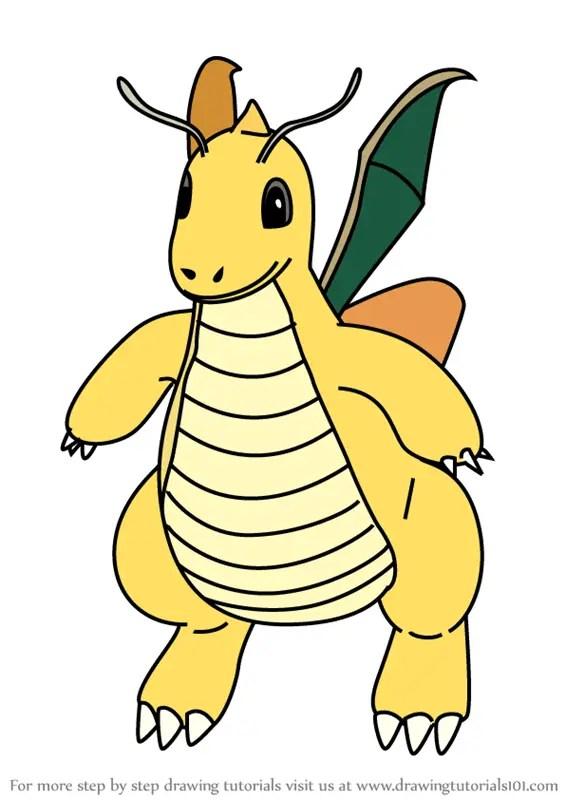 pokemon ausmalbilder dragoran - kostenlos zum ausdrucken