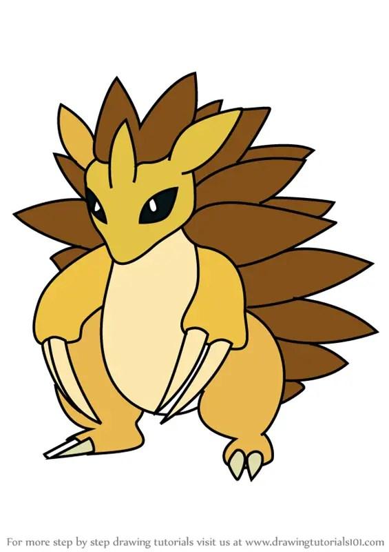 Learn How To Draw Sandslash From Pokemon GO Pokemon GO