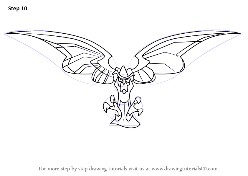 Step by Step How to Draw Clockwerk from Sly Cooper