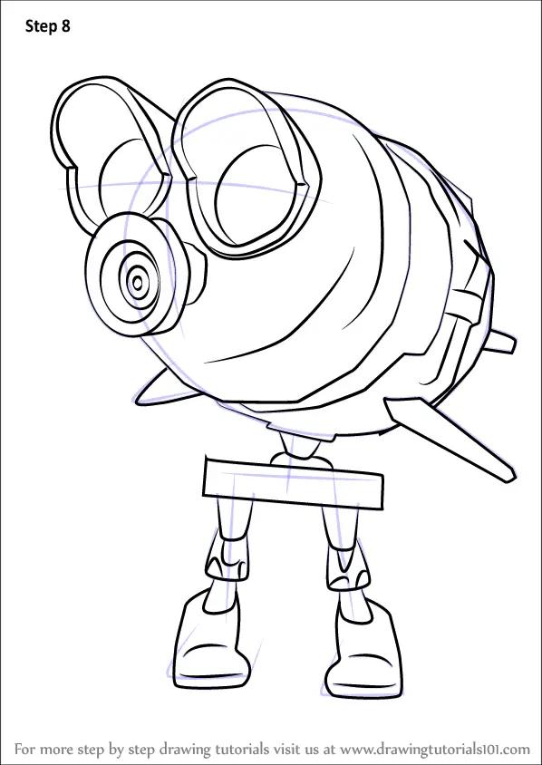 Learn How to Draw Octopod from Splatoon (Splatoon) Step by