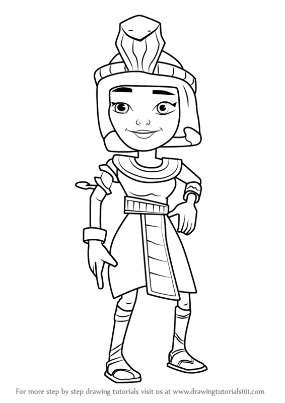 Subway Surfers Coloring Coloring Pages