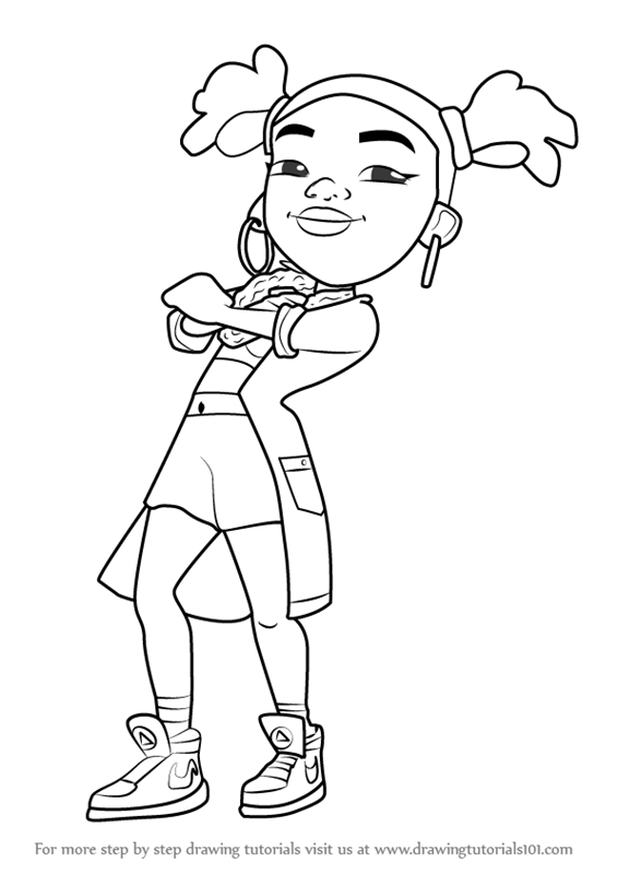 subway surfers coloring pages.html
