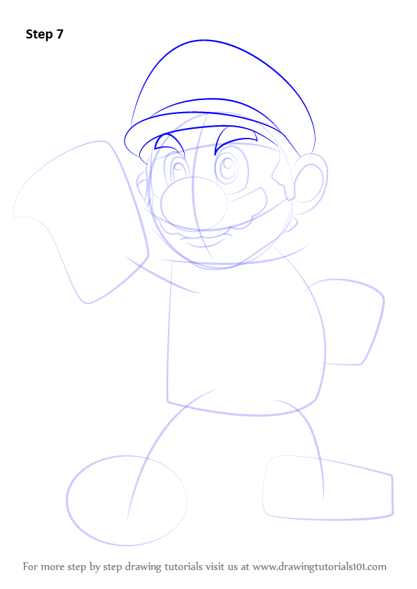 Learn How To Draw Mario From Super Smash Bros Super Smash