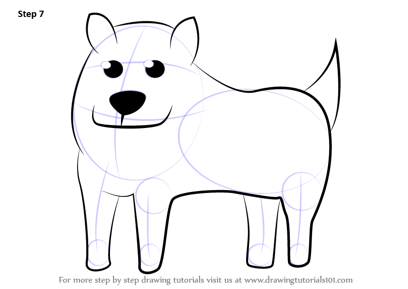 Learn How to Draw Annoying Dog from Undertale (Undertale