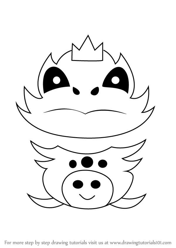 Learn How to Draw Final Froggit from Undertale (Undertale