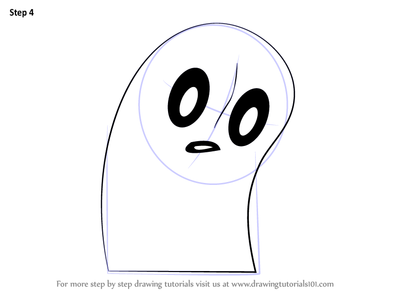 Learn How to Draw Napstablook from Undertale (Undertale