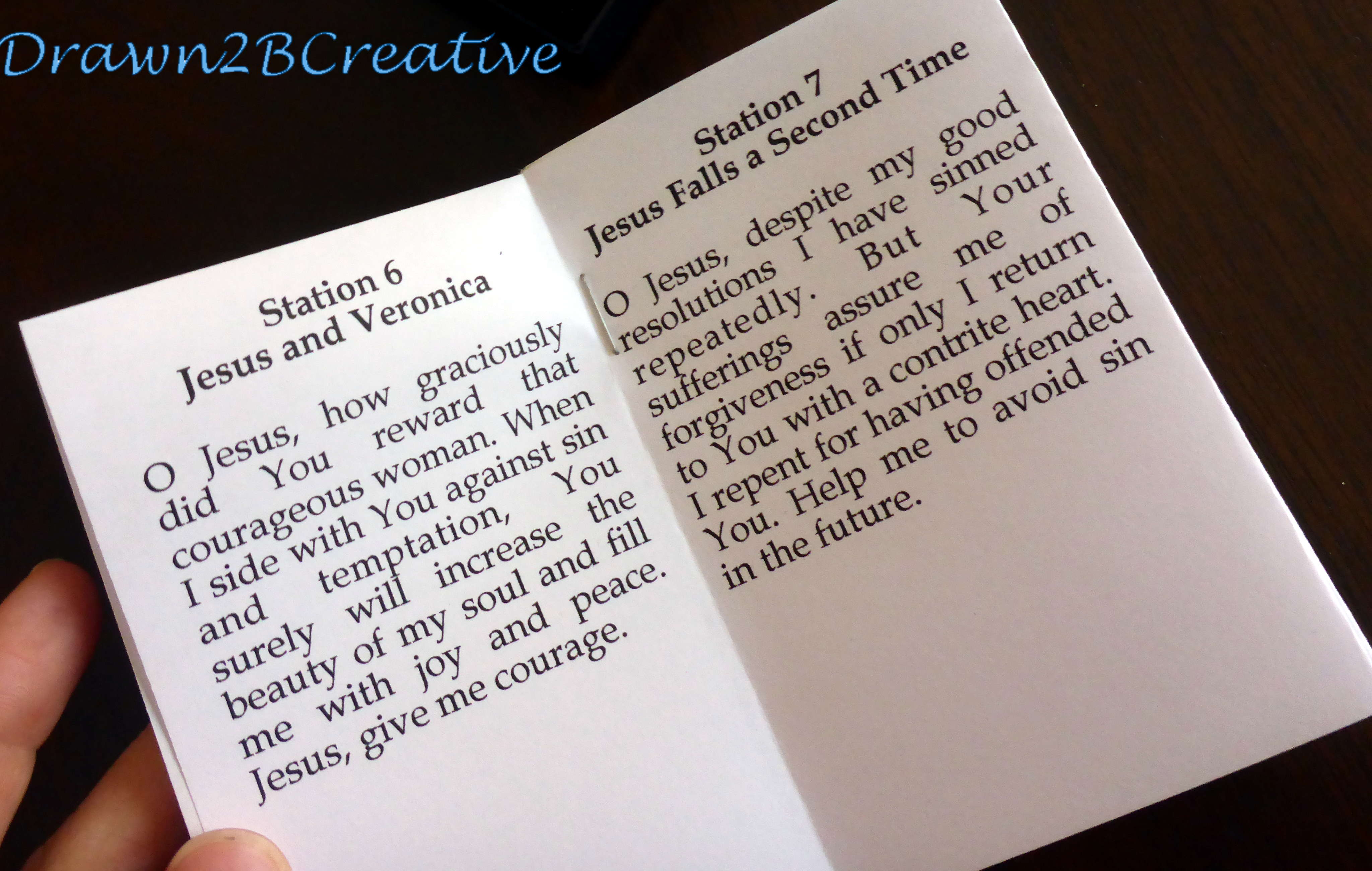 40 Days Of Free Lenten Printables Stations Of The Cross