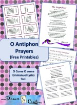 O Antiphons Free Printables
