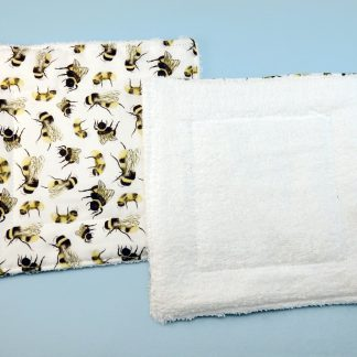 Reusable cleaning wipes